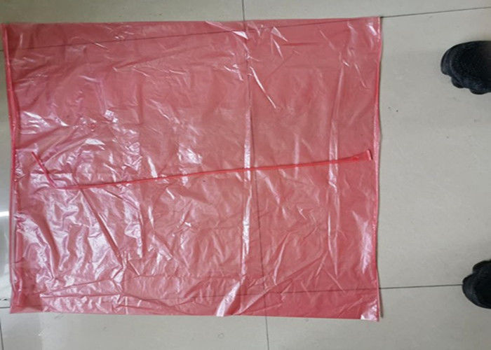 71cmx99cm 25micron Polyvinyl Alcohol Hot Water Soluble Bags With Red Tie